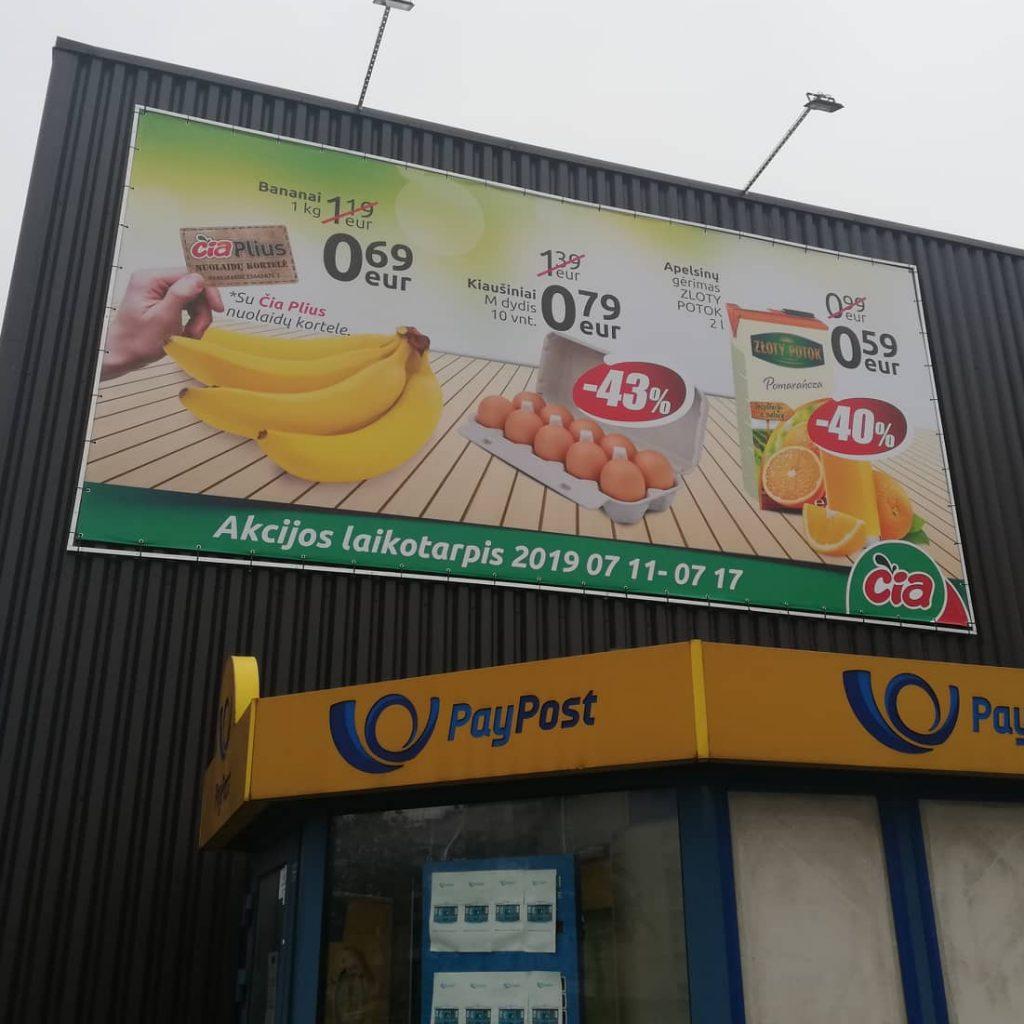 Reklaminiai tentai | Spalvota Reklama