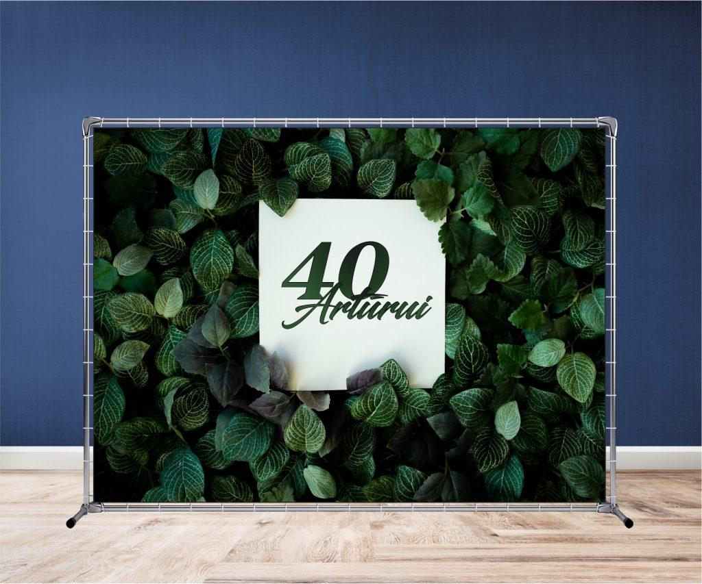 Fotosienelė gimtadieniiui   Spalvota Reklama