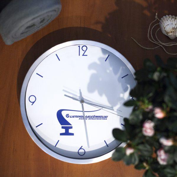 Reklaminiai laikrodžiai | Laikrodžiai su logo | Spalvota Reklama