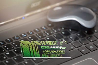 Vizitinės kortelės | Spalvota Reklama