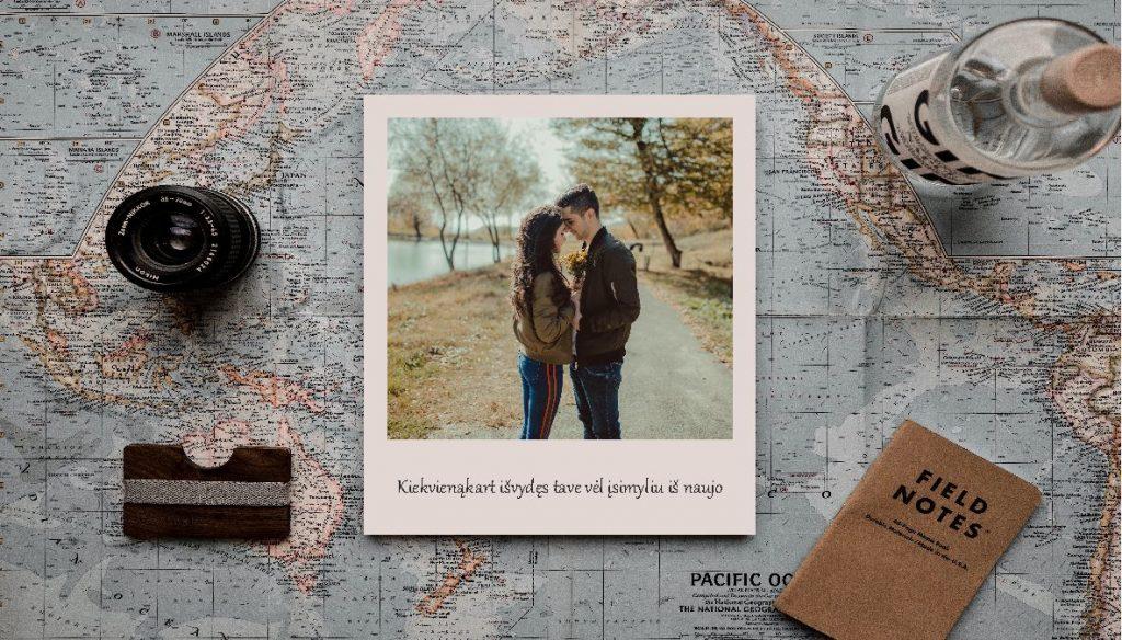 Polaroid fotodrobės | Spalvota Reklama