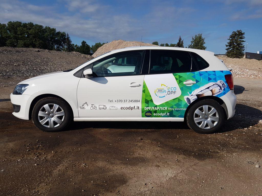 Reklama ant automobilio | Autura - Spalvotareklama.lt