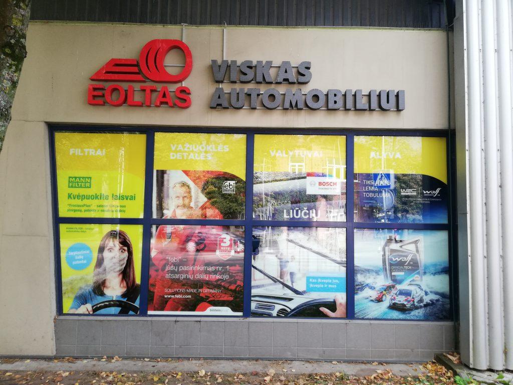 Reklama ant langų | Eoltas